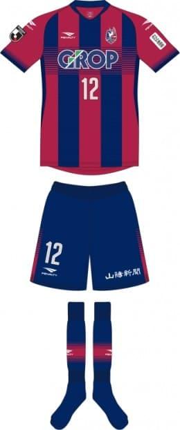 ファジアーノ岡山FC 2019 ユニフォーム-ホーム