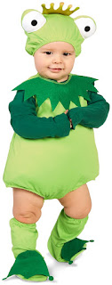 Frog Prince Infant Costume for Halloween