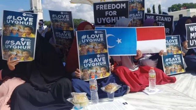 Rakyat Aceh Kecam Diskriminasi Muslim Uighur