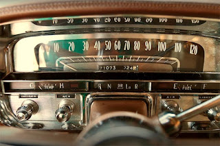 1956 Cadillac Coupe DeVille Speedometer