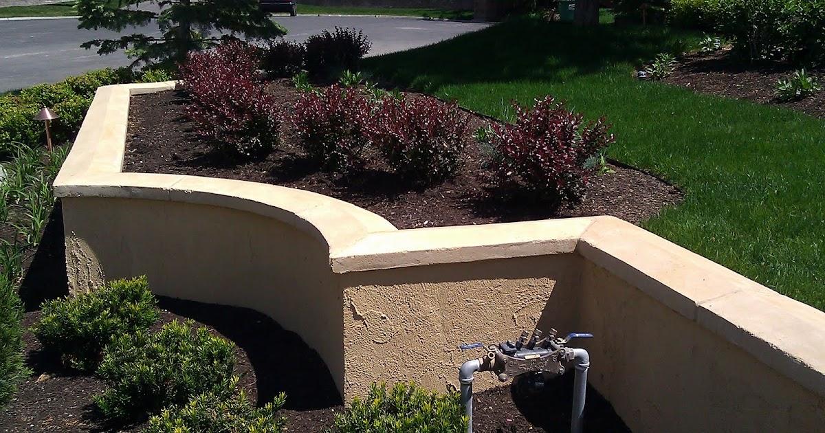 Stucco Tech: Platinum Landscape - Retaining Wall