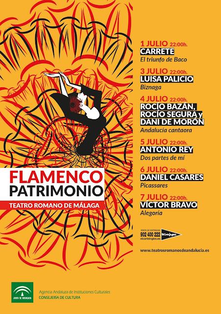 Festival de Teatros Romanos de Andalucía en Málaga