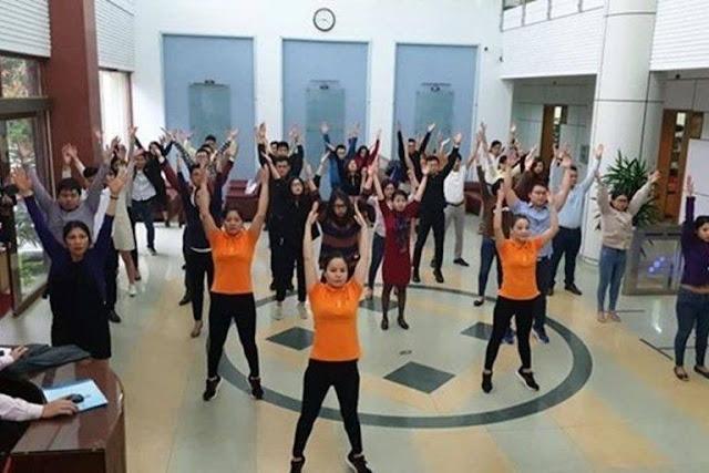 Bộ Văn hóa đề nghị cán bộ tập thể dục giữa giờ mỗi ngày hai lần
