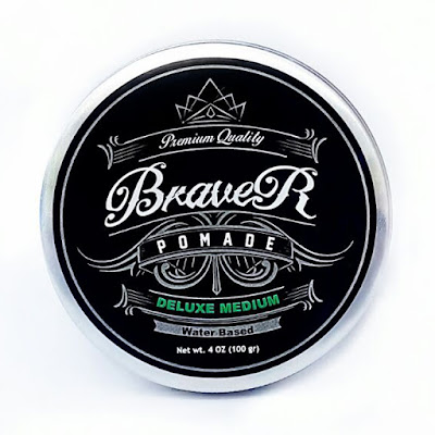 Braver Pomade Type Water Based Scent Romantic Calm Medium Hold