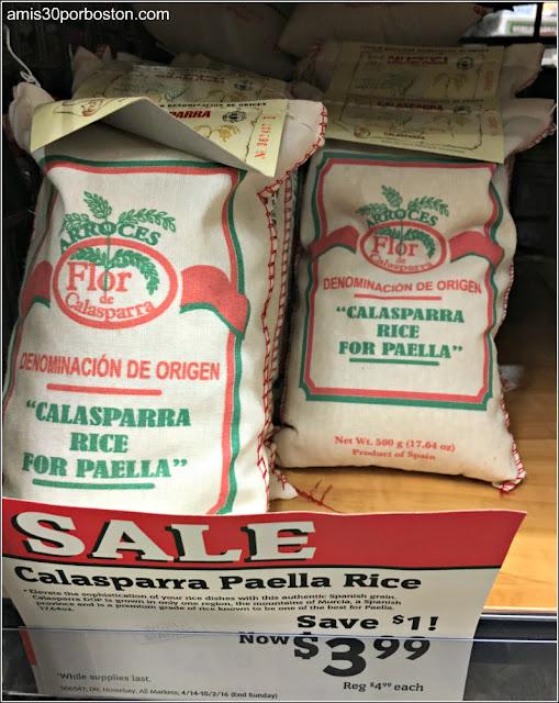 Arroces Españoles en los Comercios de Massachusetts