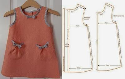 платье для девочки с выкройкой