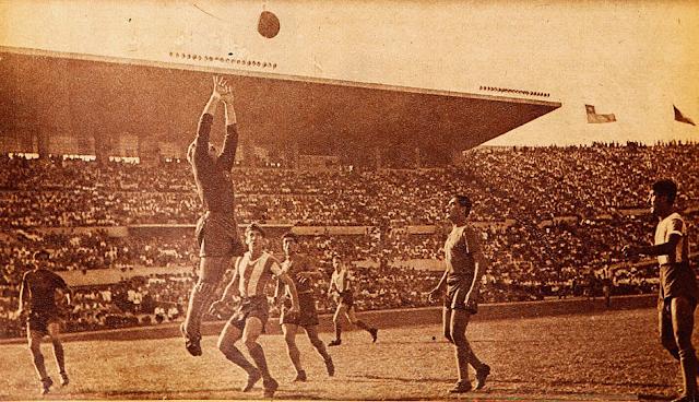 Chile y Argentina en Campeonato Sudamericano de 1945