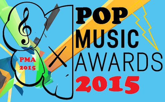 Nominados a los Pop Music Awards 2015