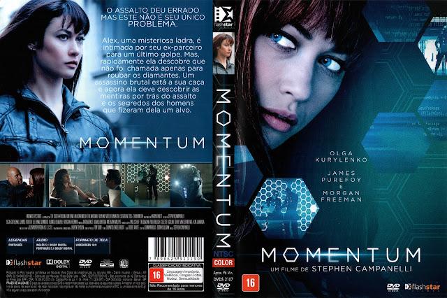 Capa DVD Momentum