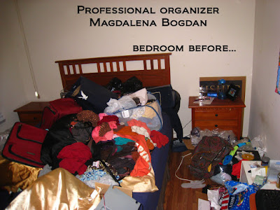 Houston Professional Organizer. Organize your bedroom.