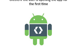 Android code by SharedPreferences to checks if the user is opening the app for the first time