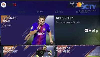 Fifa 14 Mod PES 2018 Apk by Bim Bim Full Data + Obb Android Terbaru