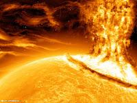 Tempestade solar entra na lista de ameaça à segurança no Reino Unido