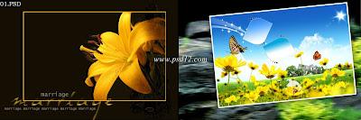 Karizma Album Design 12x36 PSD  Backgrounds