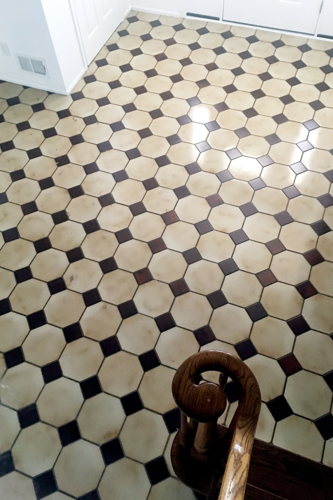 I Painted My Tile Floor