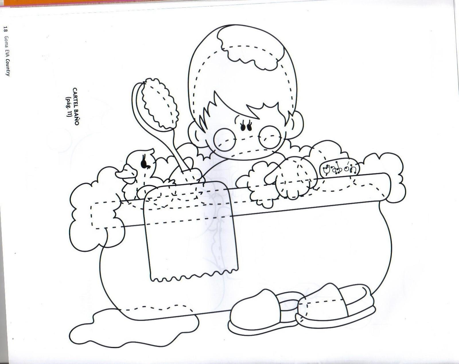 La Casa De Chichi Cartel Bebe Suaves Burbujas Con Moldes En Fommi
