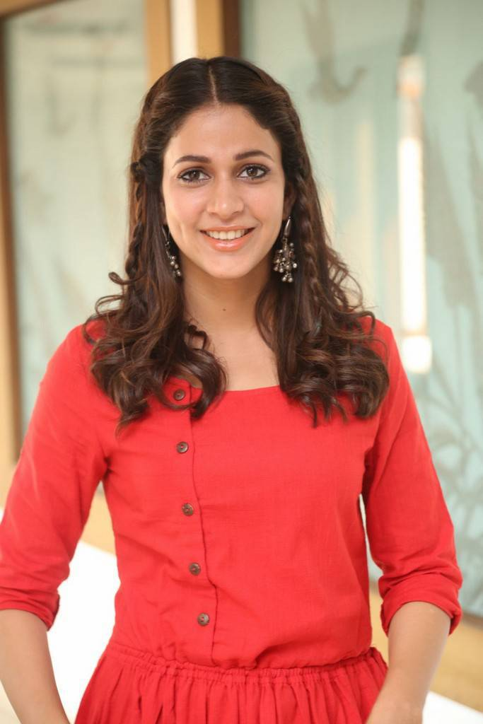 Lavanya Tripathi At Radha Movie Success Meet Gallery