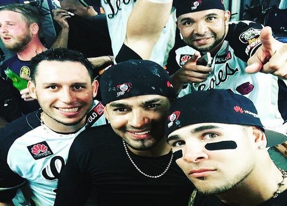 Felix Perez coloca foto en Instagram @felix36reds_oficial  y mira lo que dice dobre #leones