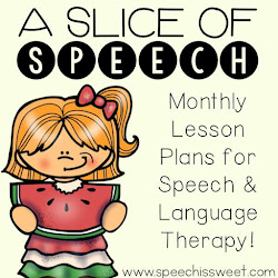 therapy ideas a slice of speech visual plans for september 2016