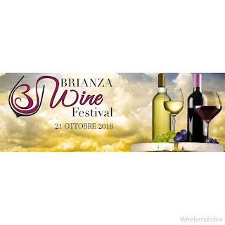 Brianza Wine Festival 21 ottobre Carate Brianza (MB)