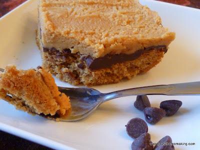 oatmeal chocolate peanut butter bars