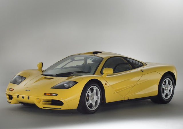 New McLaren F1 Dandelow Yellow