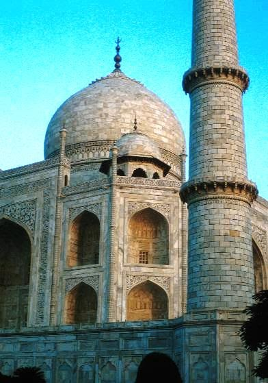 Paisley Curtain Taj Mahal Interior And Gardens