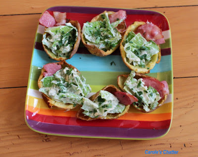 Carole's Chatter: Potato Skins