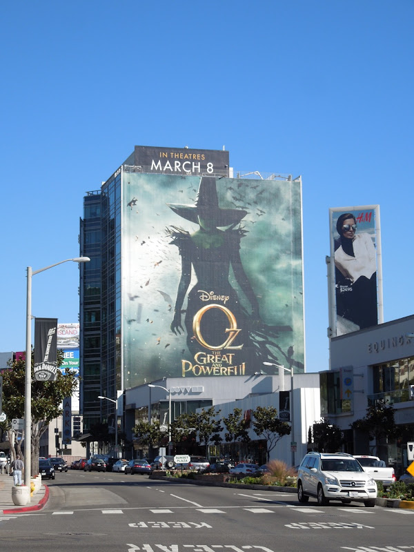 Disney Oz The Great and Powerful movie billboard
