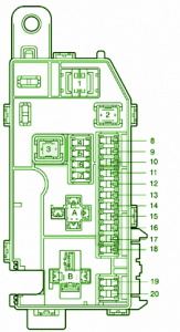 2003 toyota fuse box diagram toyota fuse box diagram 2000 mr2 toyota fuse box diagram: fuse box toyota 2000 mr2 spyder ...