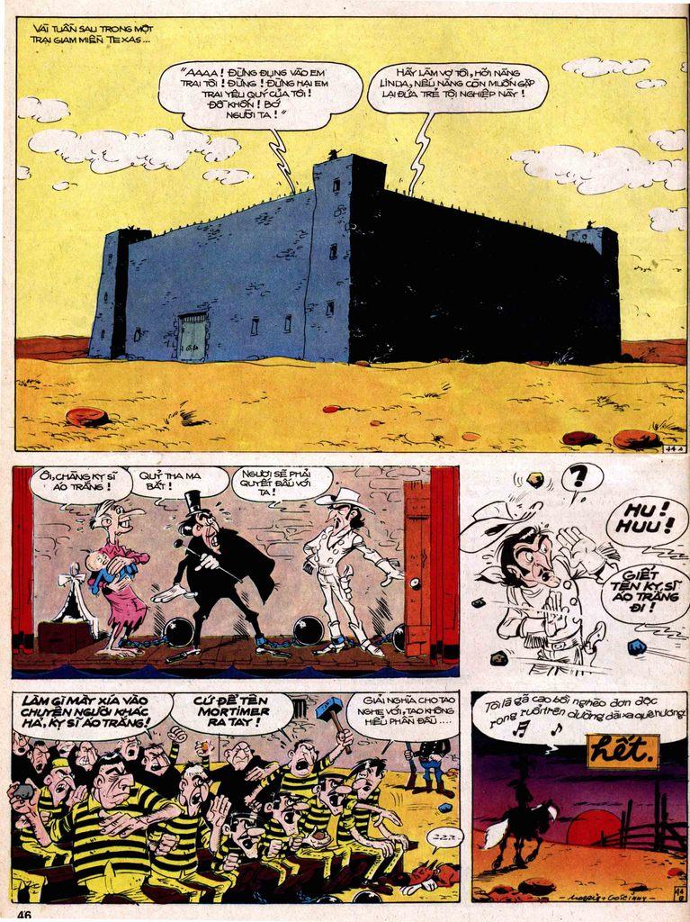 Lucky Luke tap 18 - ki si ao trang trang 44