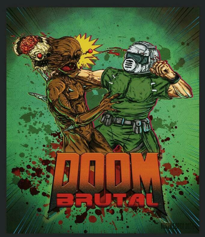 Brutal Doom por RubenLopezXP