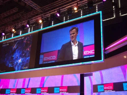 Google-Deutschlandchef Philipp Justus auf der dmexco 2014.
