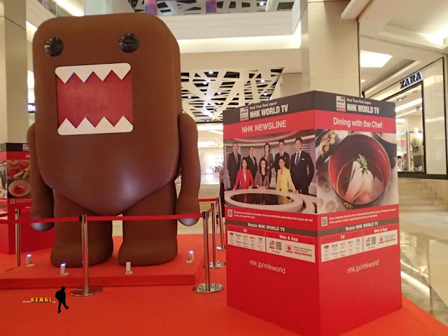 Ketemu Domo di NHK WORLD Exhibition