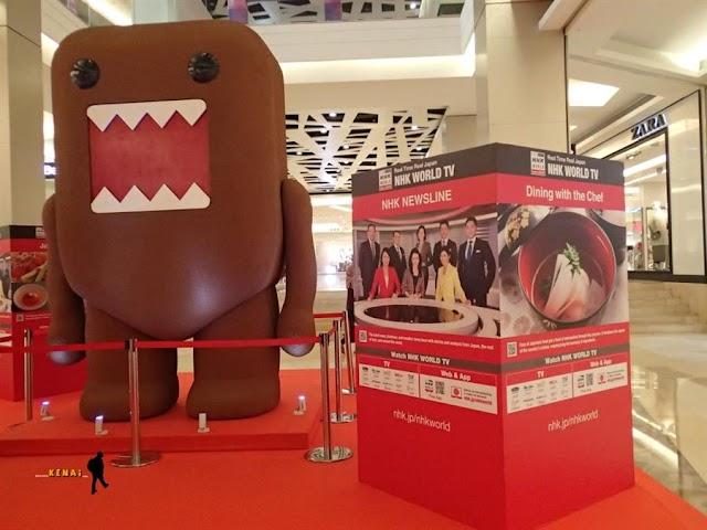 Ketemu Domo di NHK WORLD Exhibition