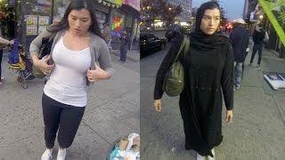 Ekasperimen Wanita Berpakaian Casual Dan Wanita Berhijab, Mau Tahu Hasilnya?