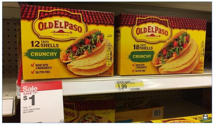Clipping Chix Target Old El Paso Taco Shells 1 3 Printable Coupon Buy Idea
