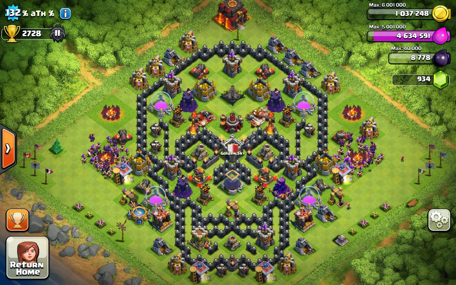 Home Design Cheats Android Clash Of Clans Th10 War Base 4 Mortars Clash Of Clans