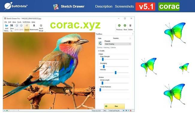 Giao diện Sketch Drawer Pro v5.1