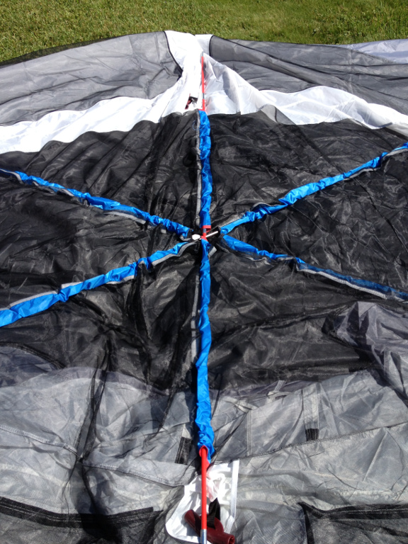 There are six plastic elbows two red and four black. Make sure that the elbows are facing the right way by checking that the nylon strap is not twisted. & Wonders of New York: TGT-1415C-1 Embark 9 Person Tent by HKD ...