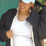 Andrea Rincon, Selena Spice Galeria 33: Gorra Azul, Cachetero Azul Foto 22
