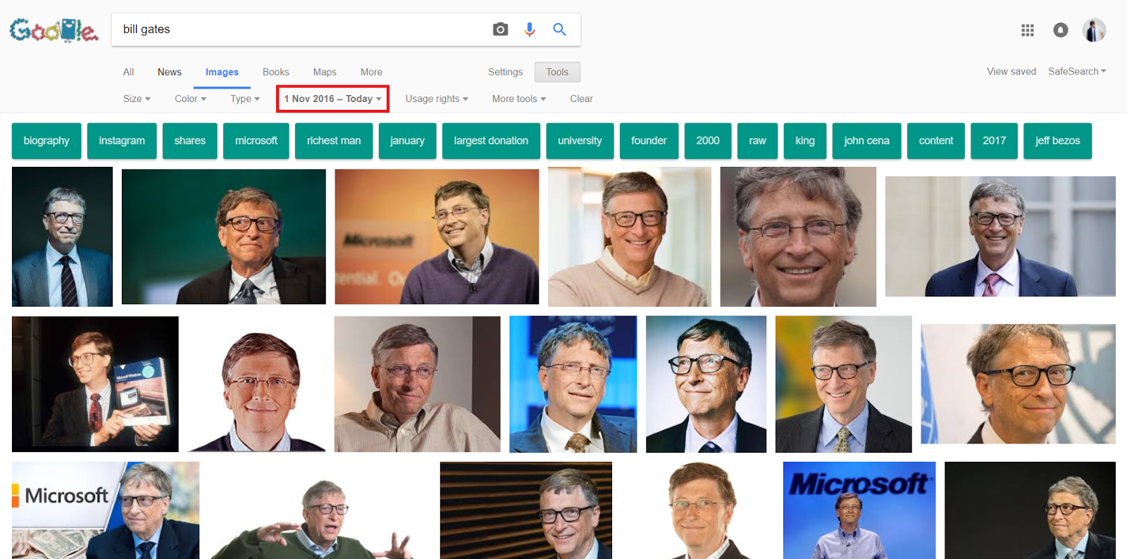 Top Bill Gates images in 2016 by Google Image Advanced Search