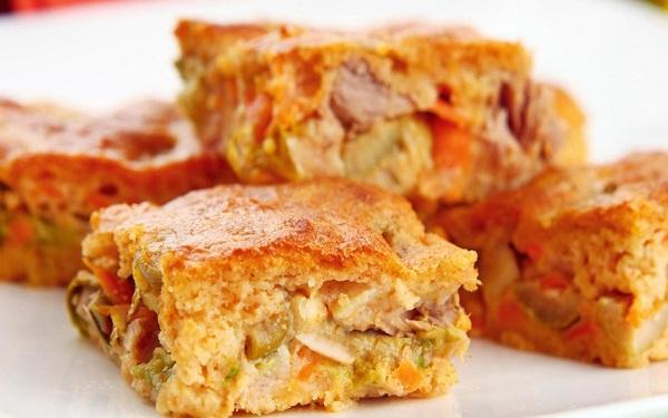 Torta salgada vegetariana (Imagem: Reprodução/Moinho Globo)