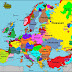 Map of the languages spoken throughout Europe
