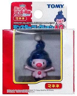 Mime Jr. Pokemon figure Tomy Monster Collection AG series