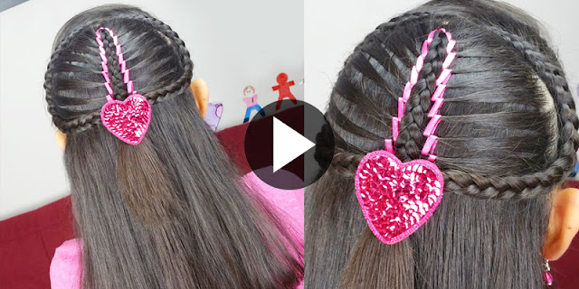 DIY - How To Create Ribbon Mermaid Braid Hairstyle, See Tutorial