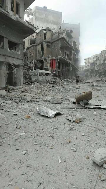 بمباران غیرنظامیان در ادلب توسط رژیم اسد