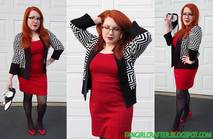 Fangirl Fashion: Twin Peaks inspired outfit