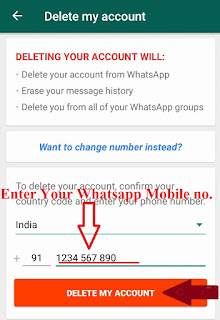 WhatsApp Account Permanently Delete Kaise Kare-