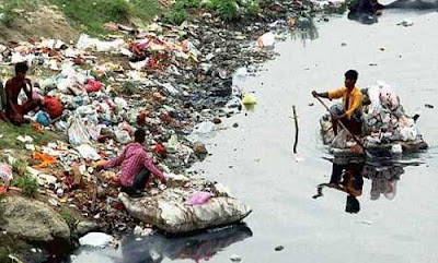 Action to Clean Yamuna River